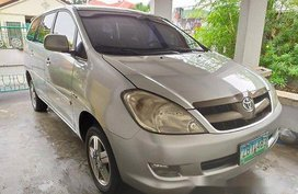 Silver Toyota Innova 2005 for sale in Manila