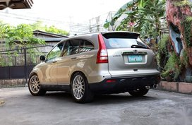 Sell Beige 2008 Honda Cr-V in Valenzuela