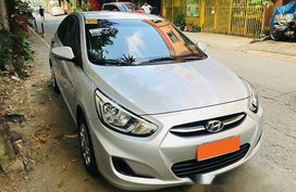 Selling Silver Hyundai Accent 2015 in Pasig