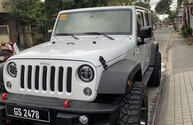 White Jeep Wrangler 2016 for sale in Automatic