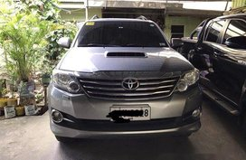 Grey Toyota Fortuner 2014 for sale in Manila