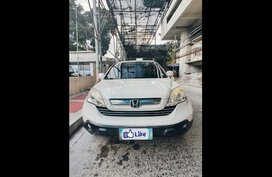 White Honda Cr-V 2007 for sale in Quezon City