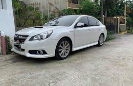 White Subaru Legacy 2013 for sale in Manila