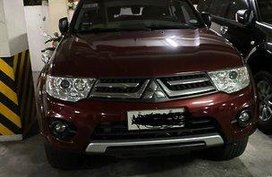 Red Mitsubishi Montero sport 2014 for sale in Manila