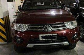 Red Mitsubishi Montero sport 2014 for sale in Manila