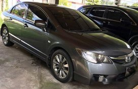 Grey Honda Civic 2010 for sale in Manila