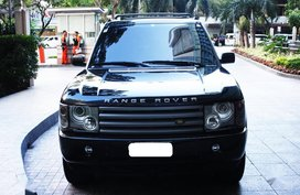 Sell Black 2003 Land Rover Range Rover Sport in Manila
