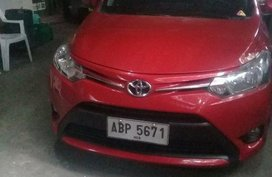 Sell Red 2018 Toyota Vios in Quezon City