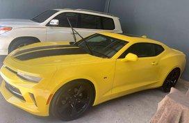 Yellow Chevrolet Camaro 2018 for sale in Muntinlupa
