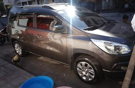 Brown Chevrolet Spin 2014 for sale in Automatic