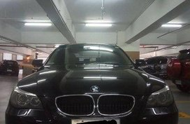 Selling Black Bmw 525I 2006 in Manila