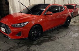 Red Hyundai Veloster 2019 for sale in Manila