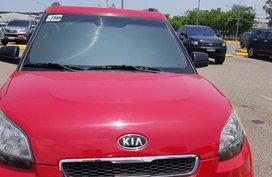 Red Kia Soul 2009 for sale in Consolacion