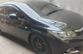 Black Honda Civic 2012 for sale in Quezon City