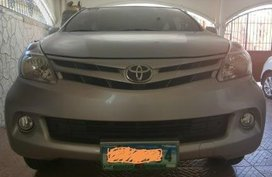 Selling Silver Toyota Avanza 2013 in Bacoor