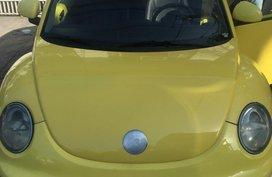Yellow Volkswagen Beetle 2000 for sale in Manila