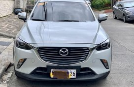White Mazda Cx-3 2016 for sale in Las Pinas