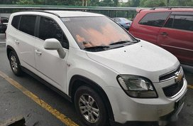White Chevrolet Orlando 2012 for sale in Automatic