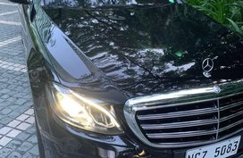 Selling Black Mercedes-Benz E-Class 2016 in Caloocan