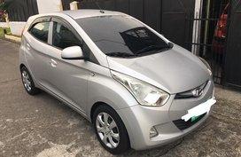 Sell Silver 2012 Hyundai Eon in Las Piñas