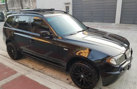 Black Bmw X3 2013 for sale in Quezon City