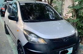 Silver Hyundai I10 2010 for sale in Mandaluyong