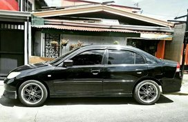 Black Honda Civic 2004 for sale in Automatic