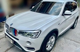 Pearl White Bmw X3 2015 for sale in Manila
