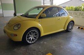 Yellow Volkswagen Beetle 2004 for sale in Quezon City