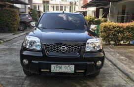 Black Nissan X-Trail Model 2004 in Cebu City