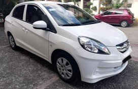 Selling Honda Brio Amaze 2016 in Quezon City