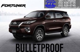 Brand New 2020 Toyota Fortuner V Bulletproof Level 6 INKAS Quality