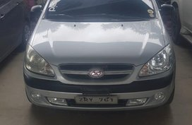 Silver Hyundai Getz 2008 for sale in Manila