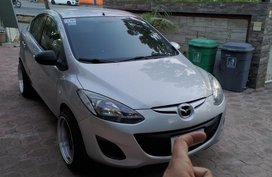Silver Mazda 2 2007 for sale in Caloocan
