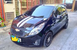 Black Chevrolet Spark 2012 for sale in Manila