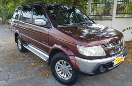 Red Isuzu Sportivo 2009 for sale in Angeles City