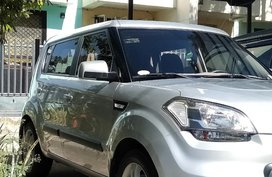 Silver Kia Soul 2011 for sale in Manila