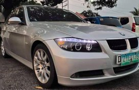 Silver Bmw 320I 2008 for sale in Manila