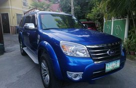 Sell Blue 2009 Ford Everest in Manila