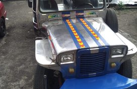 Silver Mitsubishi Jeep 1997 for sale in Manila