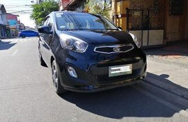 Black Kia Picanto 2013 for sale in Manila