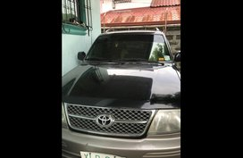 Black Toyota Revo 2003 at 95000 for sale