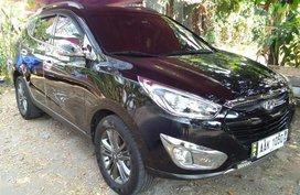 Selling Black Hyundai Tucson 2014 in Manila