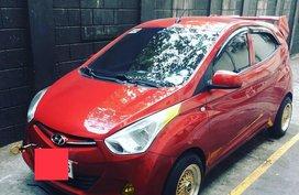 Sell Red 2014 Hyundai Eon in Manila