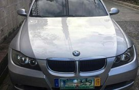 Silver Bmw 320I 2007 for sale in Manila