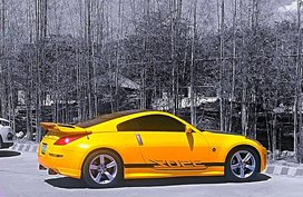 Yellow Nissan 350Z 0 for sale in Manila
