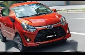 Selling Orange Toyota Wigo 2018 in Quezon City
