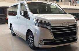 Sell White 2020 Toyota Hiace in Manila