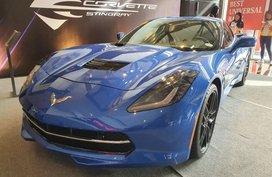 Sell Blue 2020 Chevrolet Corvette Stingray in Pasig