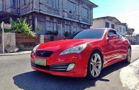 Selling Red Hyundai Genesis 2011 Coupe